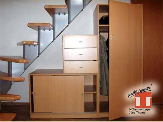 m bel f r flur diele von m belmontagen j rg thems aus. Black Bedroom Furniture Sets. Home Design Ideas