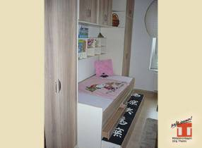 Kinderzimmer Möbel mit originellem Schrankbett