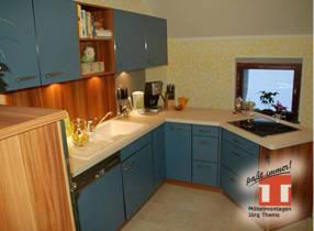 Küchenzeile auf Maß für Küchen im Dachgeschoß und schrägen Wänden