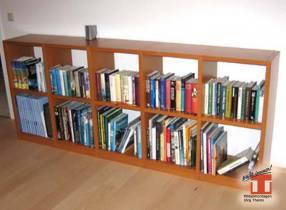 Stabiles Bücherregal nach Ihrer Maßvorgabe - kein Problem
