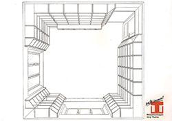 Raumplanung mit 3D-Zeichnung